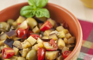 Caponata light con melanzane