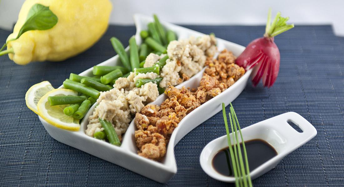 Insalata di bulgur e tofu
