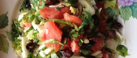 ricetta dell'insalata tricolore
