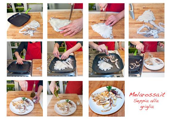 come cucinare la seppia alla griglia