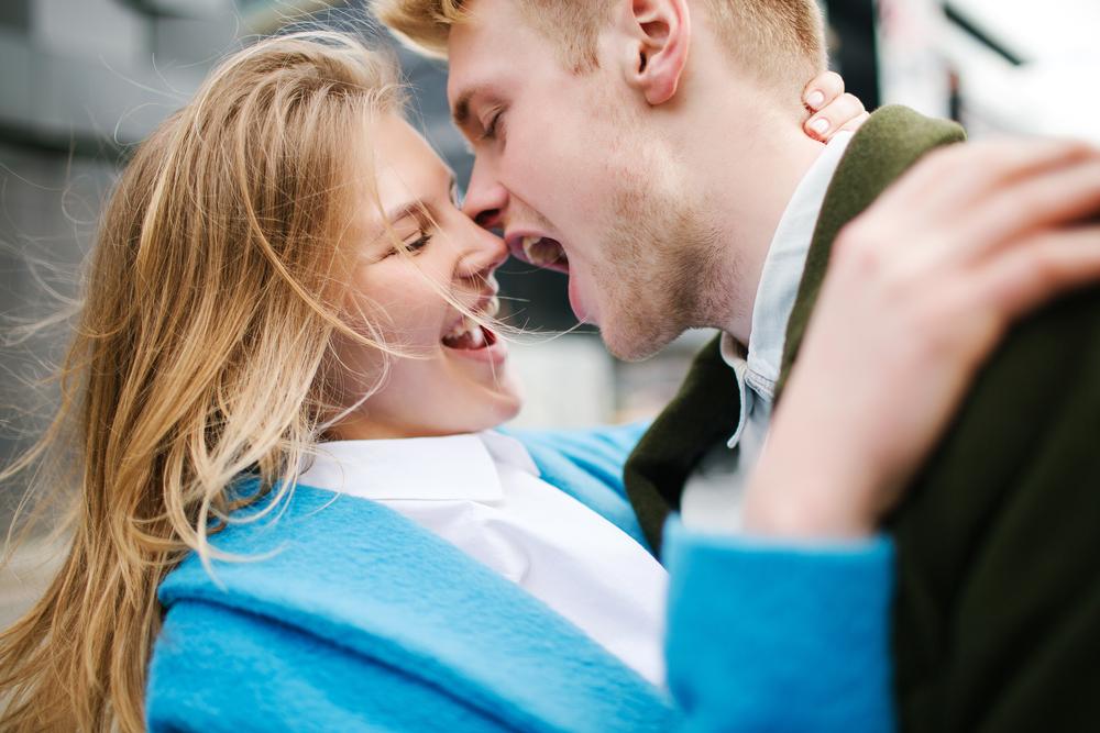 baciare rende felice