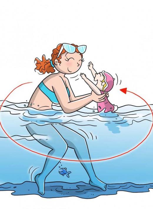 Post gravidanza Water squat