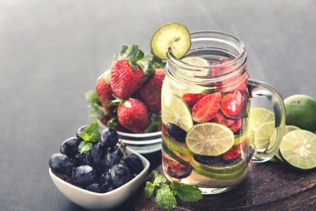 ricette acque detox aromatizzate