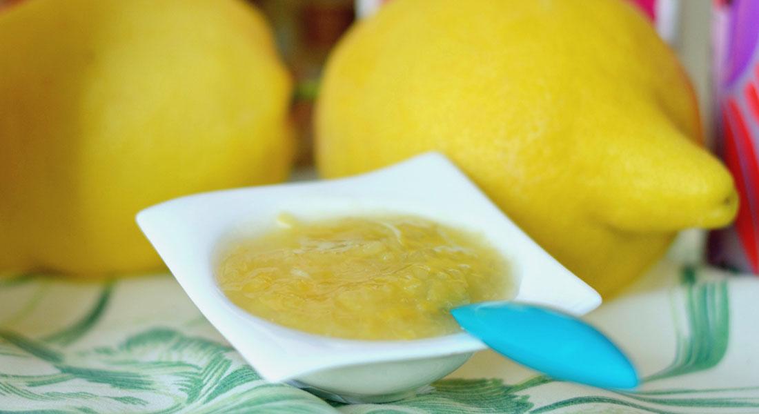 Confettura di limoni di Sorrento