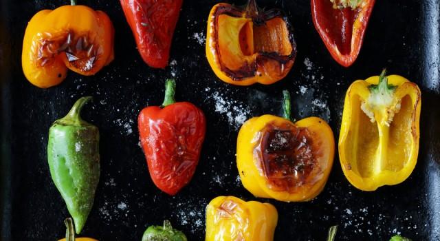 qual'è la differenza tra peperoni gialli, verdi e rossi