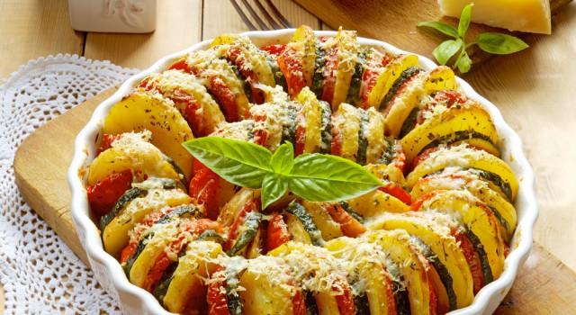 ricette Zucchine, peperoni, melanzane