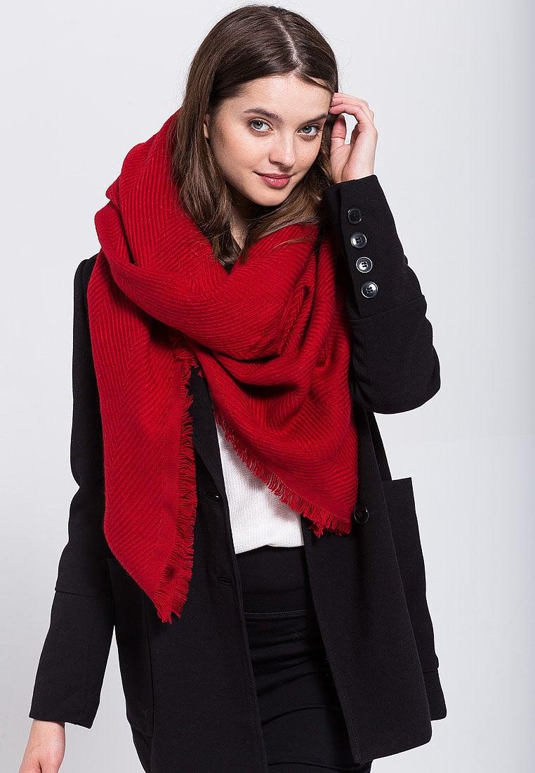 come vestirsi per le feste natalizie foulard anna field