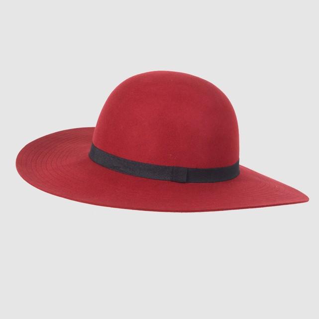 look per le feste cappello a bordo largo la redoute