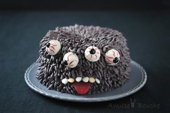 idee torte per halloween mostro