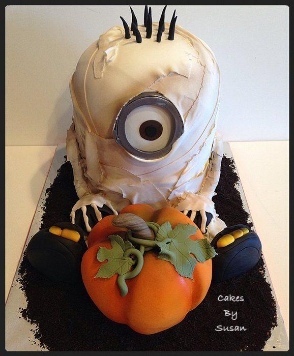 Idee torte per halloween mummia