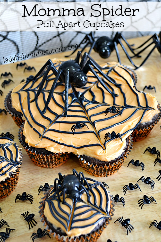 idee torte per halloween ragno cupcake