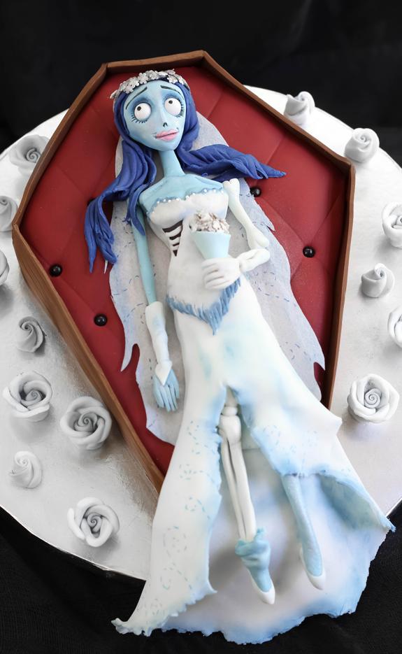 idee torte per halloween sposa cadavere