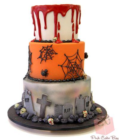 Idee torte per halloween sposa nuziale