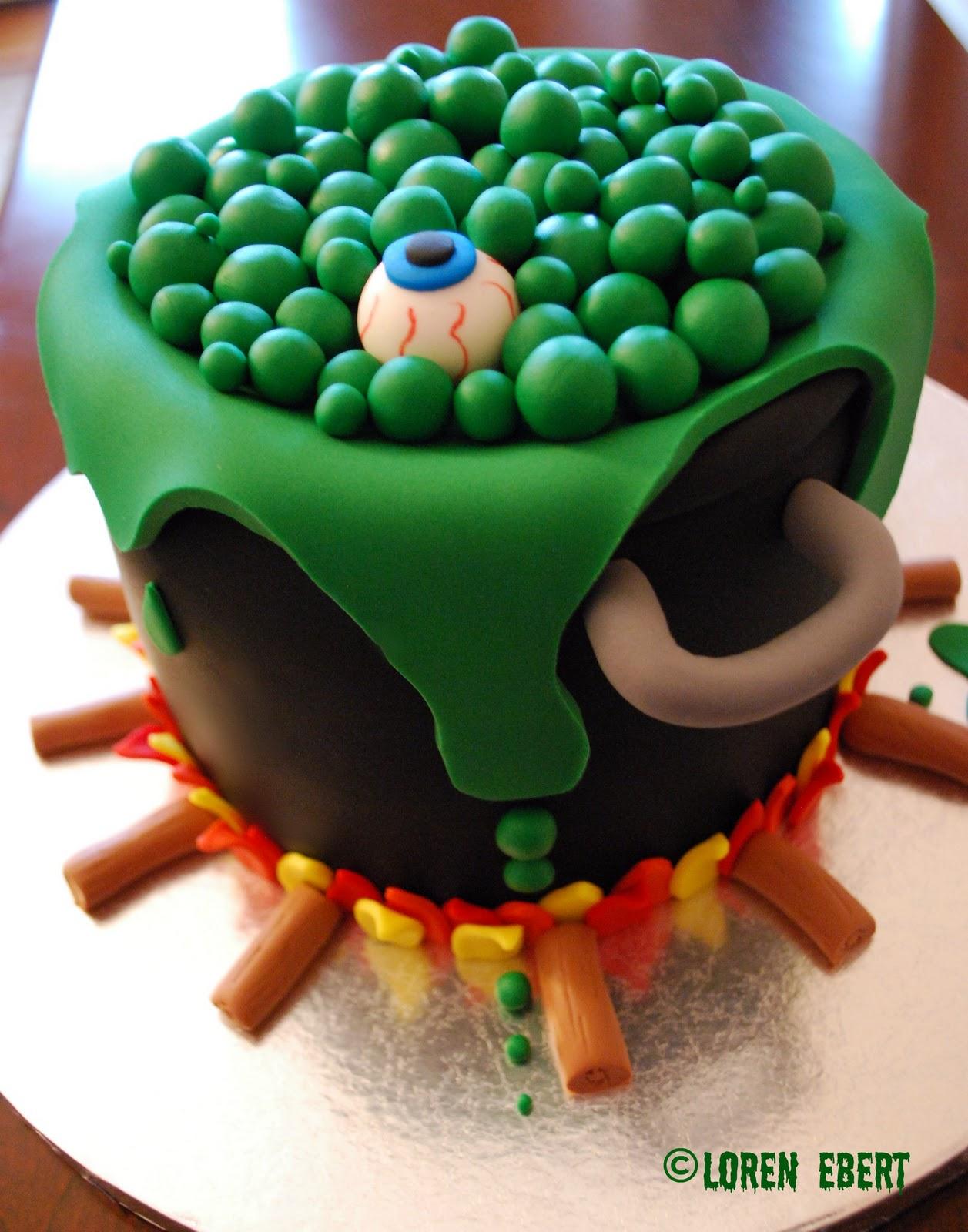 Idee torte per halloween infuso streghe