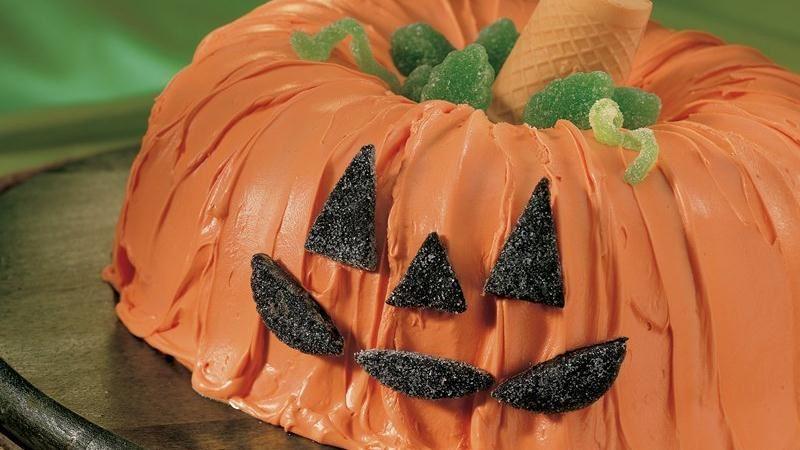 Idee torte per halloween zucca