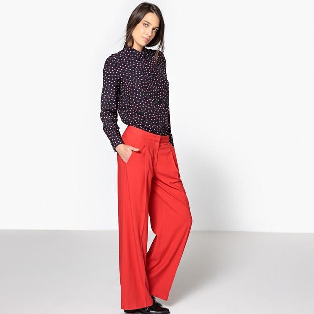 vestiti rossi da indossare a natale pantaloni larghi la redoute