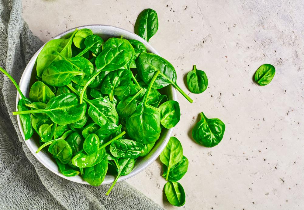 spesa di dicembre gli spinaci