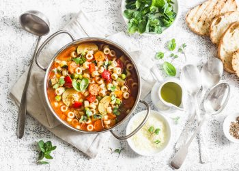 5 minestroni per fare il pieno di fibre e vitamine e depurarsi