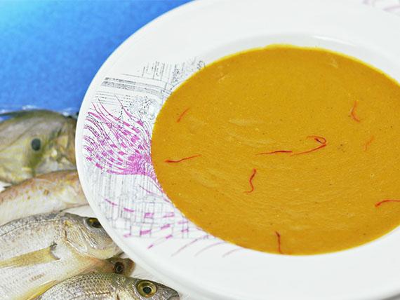 Basta con il solito minestrone! vellutata di mare