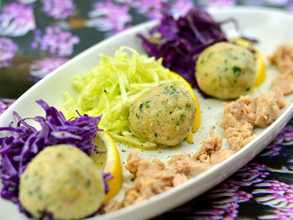 ricetta polpette di patate con cavolo cappuccio