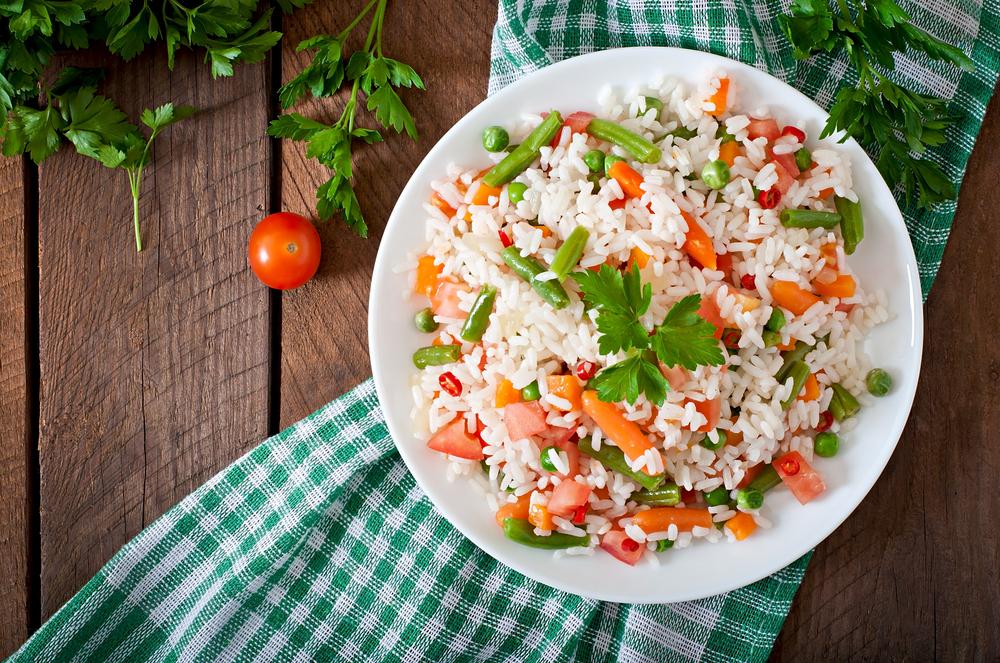 Insalata di riso, sana, veloce e leggera