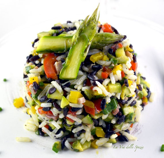insalata di cereali al riso