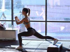 la lezione di aerobica base