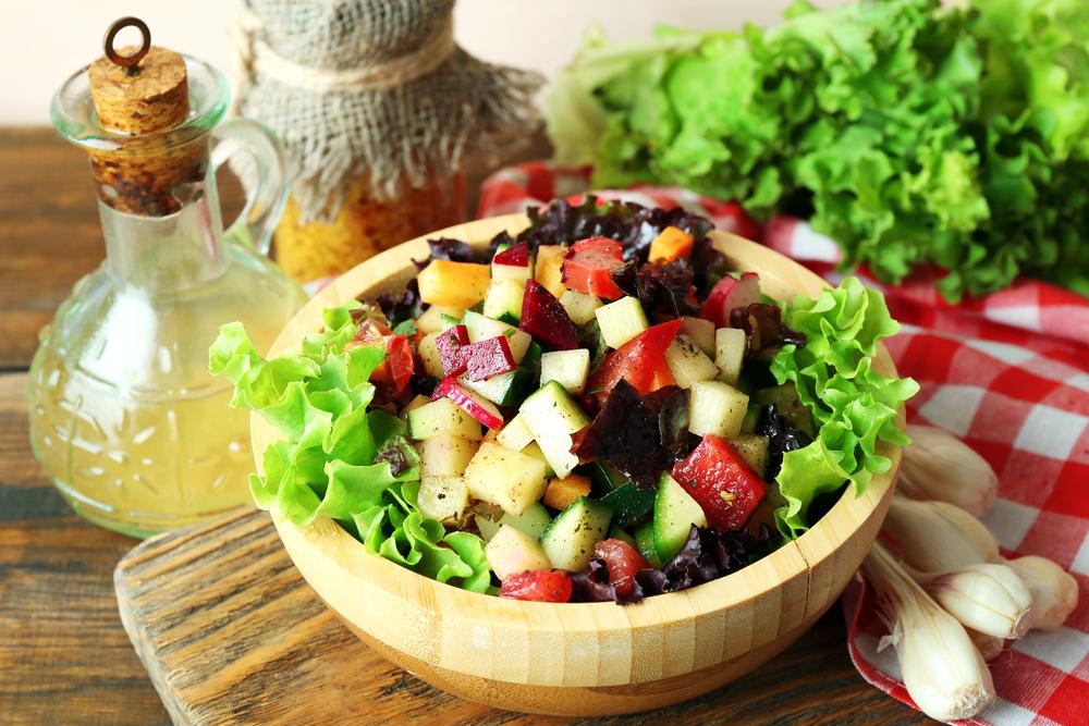 ricette estive di insalate melarossa