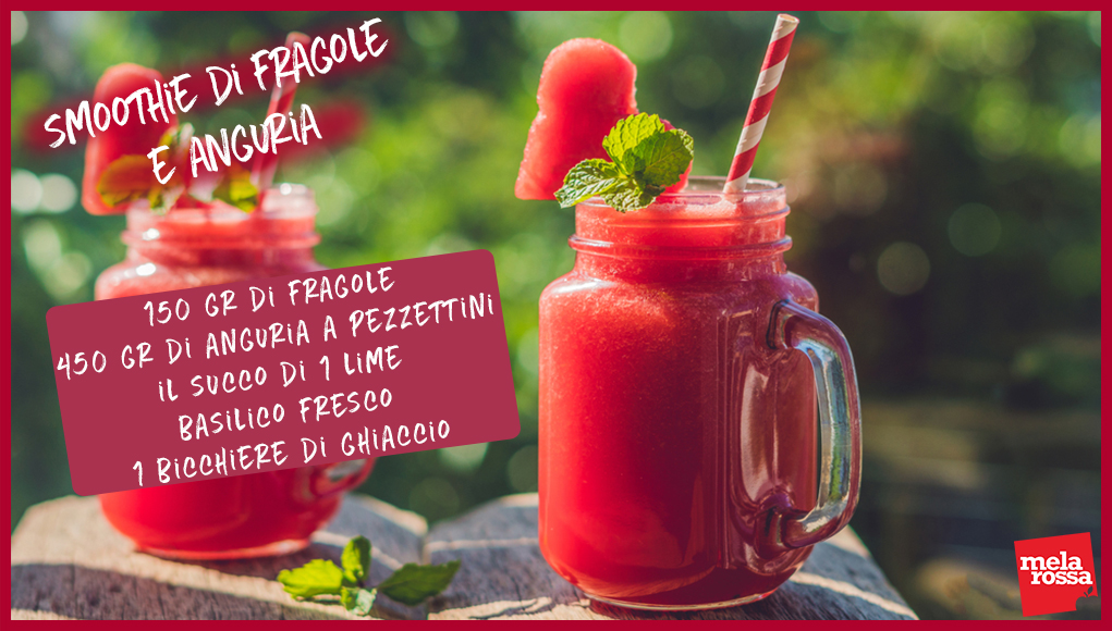 smoothie di fragole