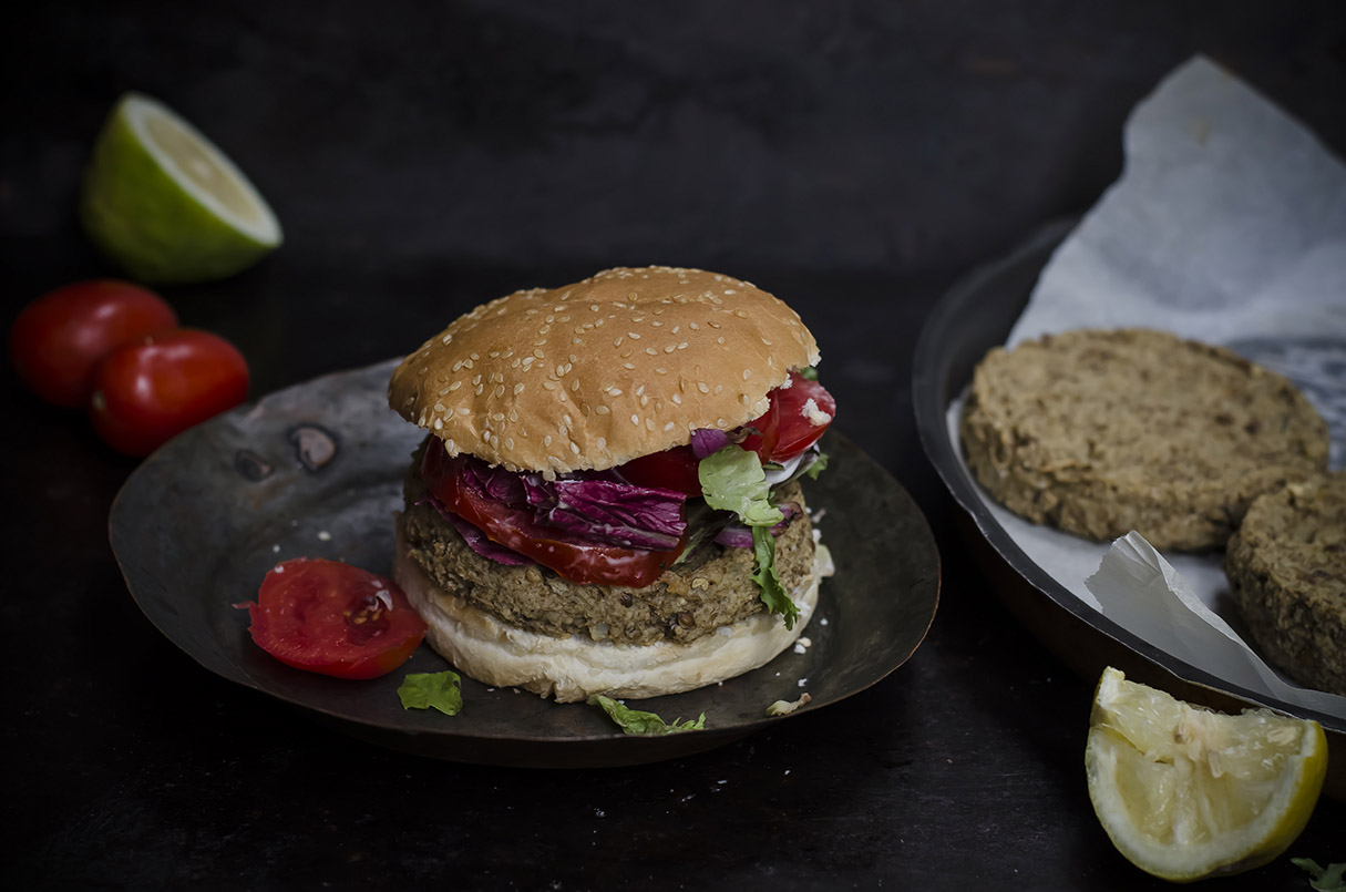 hamburger vegetariano