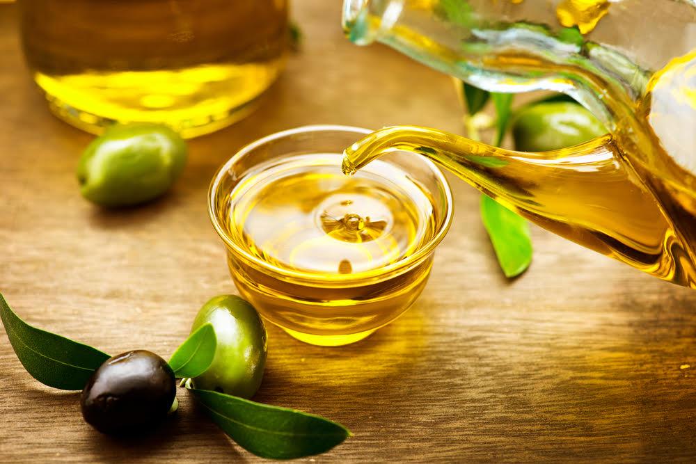 Olio extravergine per la pelle luminosa