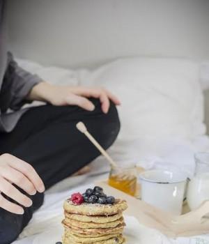 la ricetta dei pancakes light senza zucchero