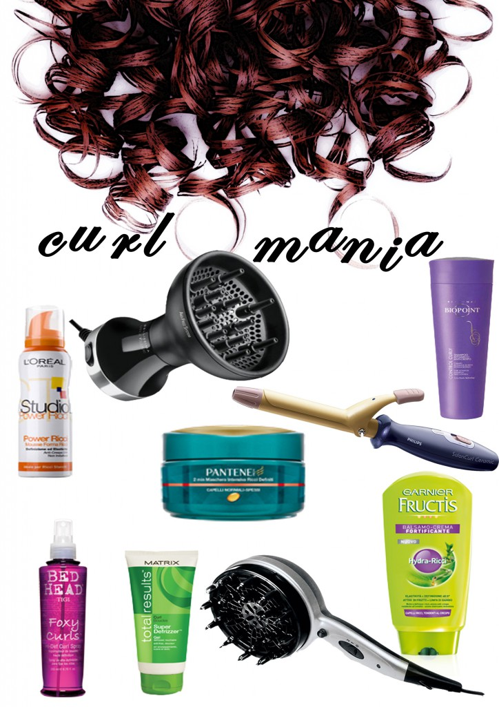 i prodotti giusti se hai i capelli ricci