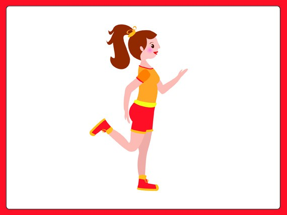 Aerobica per sovrappeso: Running in place