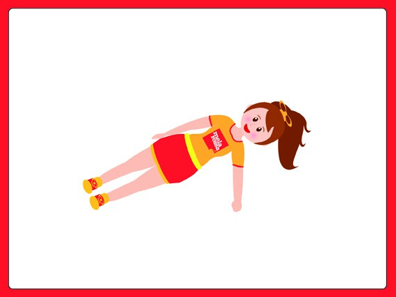 dimagrire circuito : Side plank