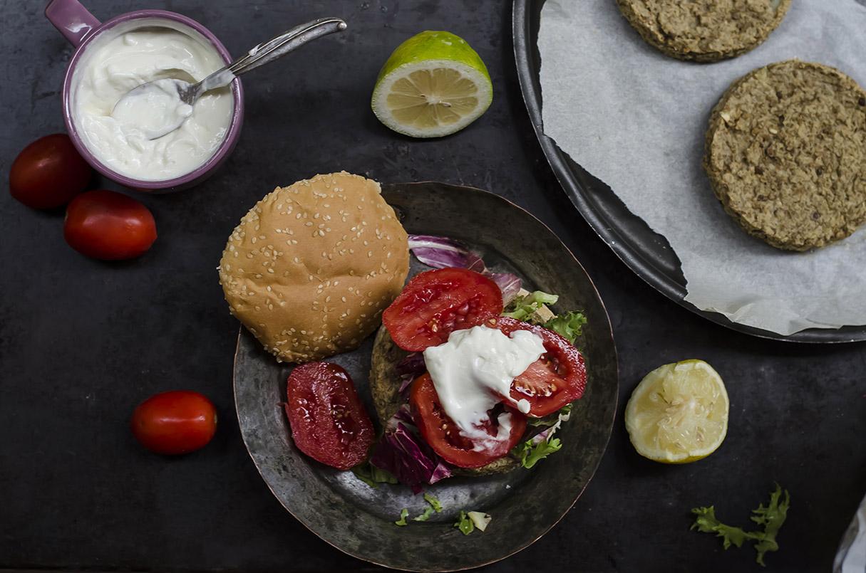 Veggie burger 7