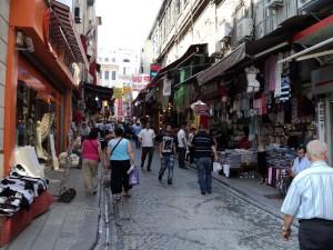 Istanbul Vicolo animato del centro