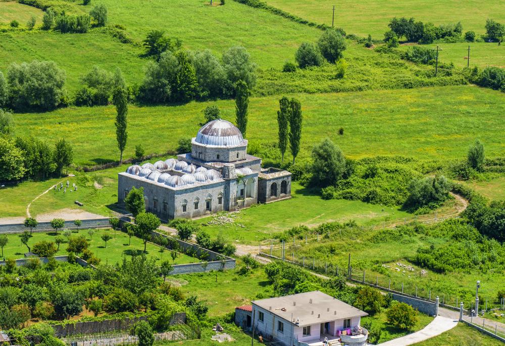 albania, vista