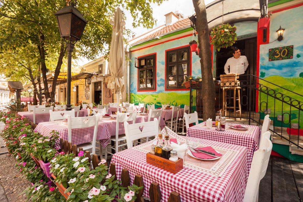 belgrado, i ristoranti