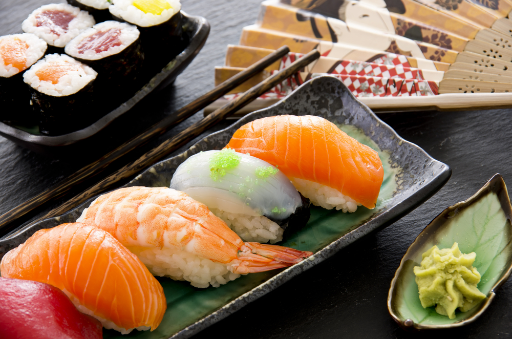 cibo giapponese, sushi e sashimi a dieta, si può?