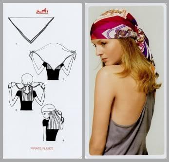 le dritte per indossare il foulard in testa
