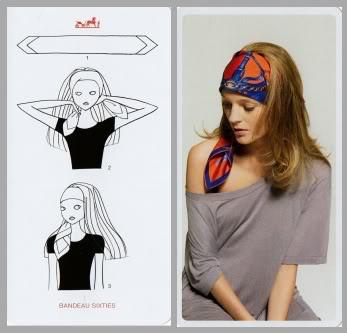 come indossare il foulard per essere hippie