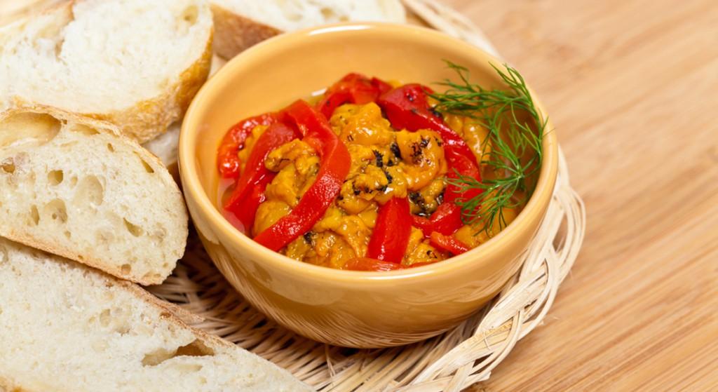 ricetta peperonata con cipolla