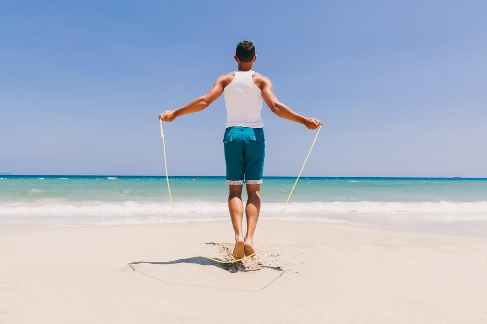 corda per saltare da portare con te in vacanza