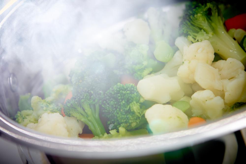 cottura al vapore a dieta