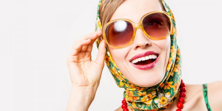 guida per indossare il foulard