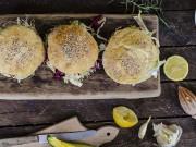 Hamburger di pollo e ricotta