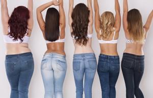Il jeans giusto per le tue curve