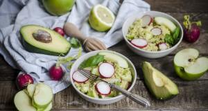 ricetta insalata di miglio mela e basilico