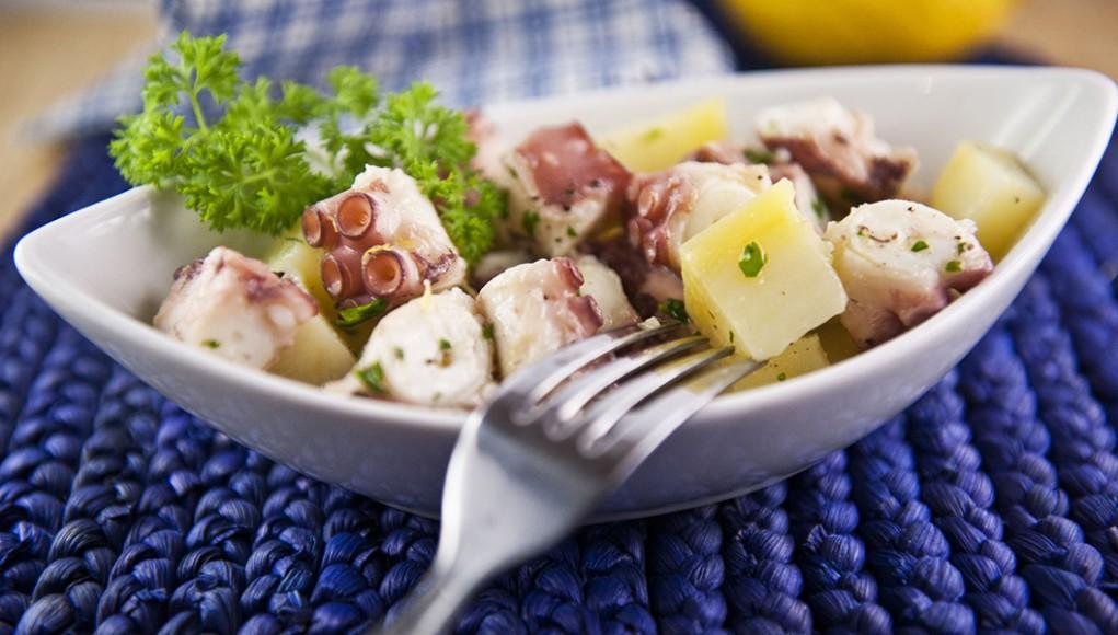 ricetta insalata di polpo con patate